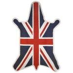 jonathan adler zebra british flag rug wool