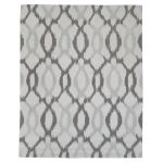 West Elm Ikat Links Rug wool